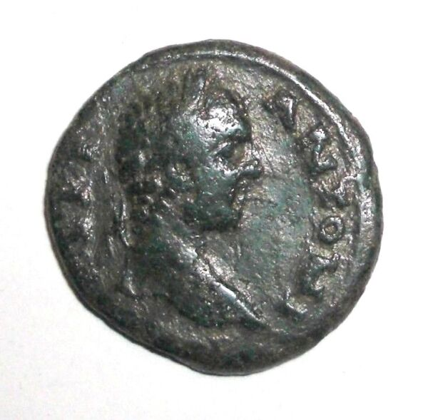 Ancient Roman Provincial 100 400 AD. Bronze coin. Victory