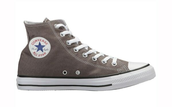 Converse Chuck Taylor All Star High Top Canvas Men Shoes 1J793 - Gray/White
