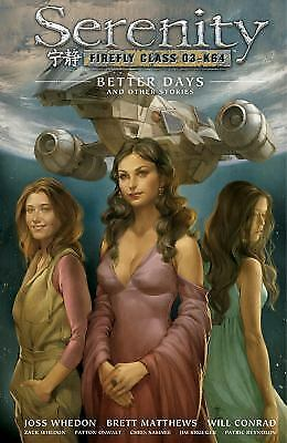 Serenity: Better Days and Other Stories...NEW Hardcover...25% discount shelfwear