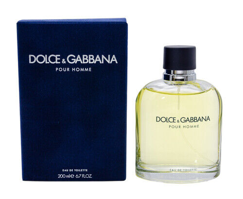 Dolce amp; Gabbana Pour Homme by Damp;G 6.7 oz EDT Cologne for Men New In Box