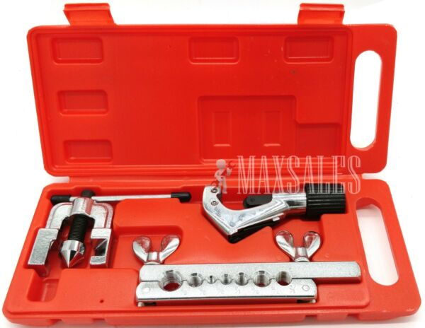 Flaring and Swaging Tool Kit for Refrigeration Soft Copper Tube