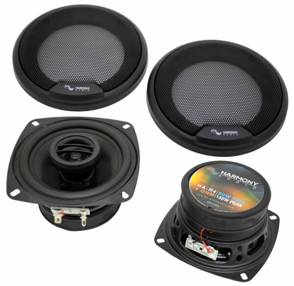 Harmony Audio HA R4 Car Stereo Rhythm Series 4quot; Replacement 150W Speakers Grills $34.99