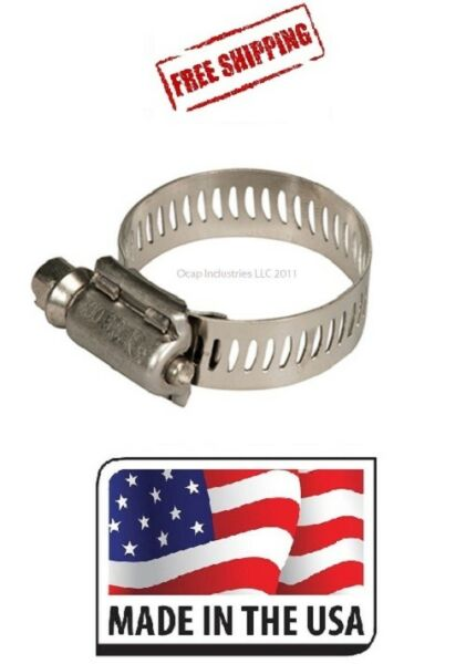(10) #28  5228  Tridon  Ideal Stainless Steel Hose Clamp (1-14