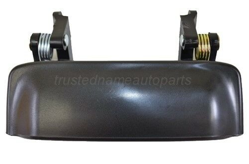 Outside Exterior Outer Door Handle Smooth Black for Ford Explorer Sport Trac
