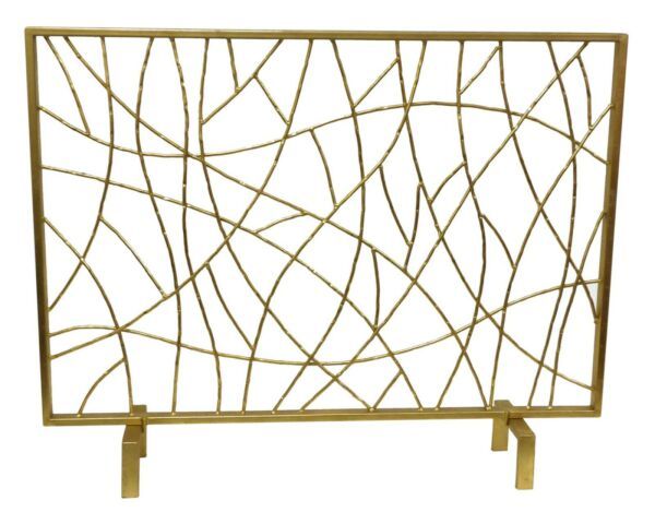 FIREPLACE SCREENS quot;INTO THE WOODSquot; DECORATIVE FIRE SCREEN FIRE PLACE SCREEN