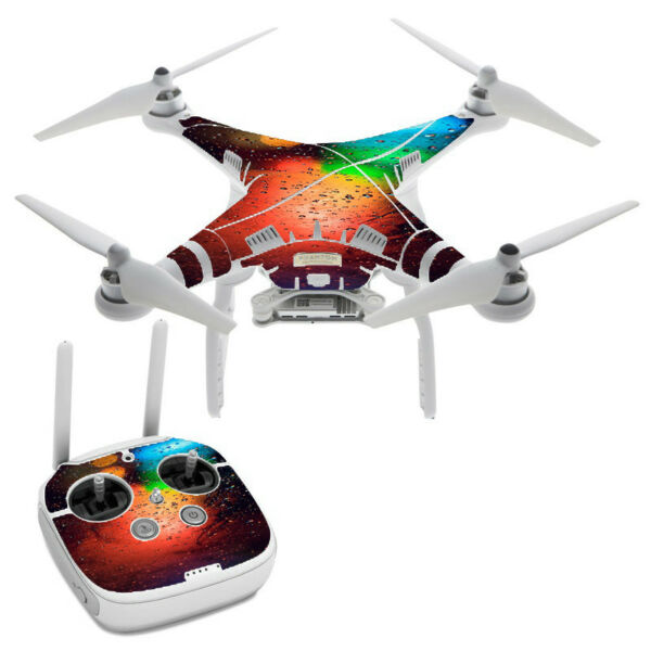 Skin Decal for DJI Phantom 3 Professional Drone / Traffic Lights