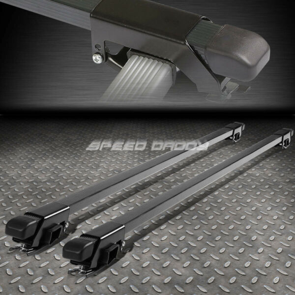50quot; ALUMINUM ROOF RACK CAR SUV TOP CROSSBAR LUGGAGE BAG CARGO SQUARE BAR RAIL $27.96
