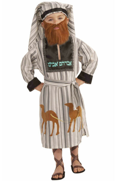 Biblical Religious Abraham Child Costume Large