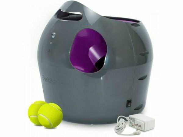 PetSafe Automatic Tennis Ball Launcher Dog Fetch Toy PTY00-14665  2 Tennis Balls