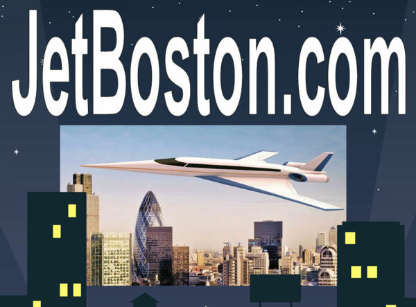 Jet Boston .com  Friends Tickets Airplanes Domain Name For Sale URL Website