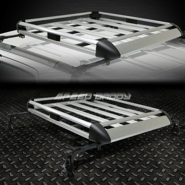 50quot;X 31quot;ALUMINUM ROOF RACK CAR SUV TOP CARGO LUGGAGE BAG CARRIER BASKETCROSSBAR $68.88