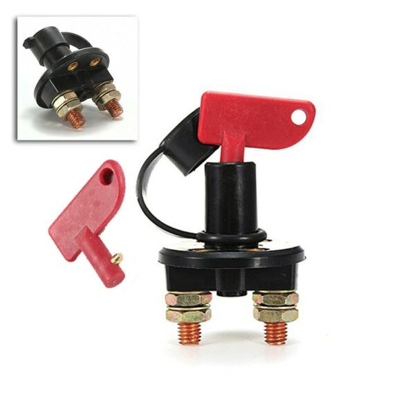 Battery Disconnect Kill Cut Off Switch Car Boat Truck Brass Terminal Cut-off