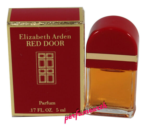 Red Door By Elizabeth Arden  0.16 Oz Parfum Splash  New In Box For Women