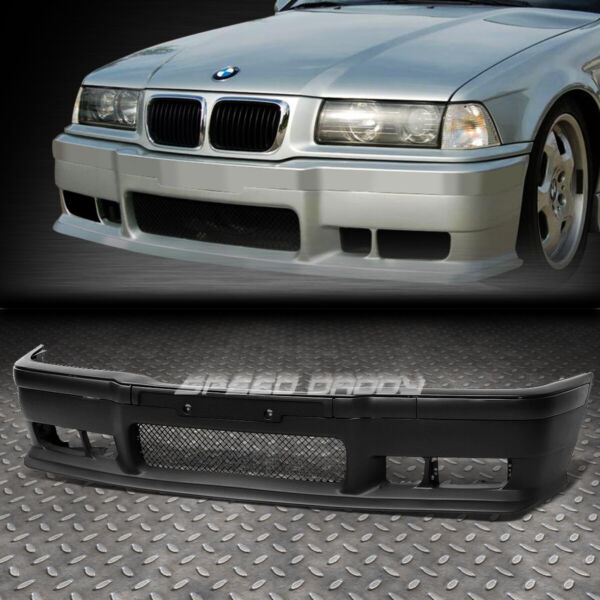 FOR 92 98 BMW E36 3SERIES 1PC M3 STYLE REPLACEMENT FRONT BUMPER BODY KITGRILLE