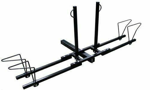 New Heavy Duty 2 Bike Bicycle 2quot; Hitch Mount Carrier Platform Rack Car Truck SUV $46.99