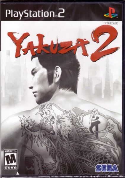 Yakuza 2 - Original Black Label [PlayStation 2 PS2, NTSC Video Game] NEW