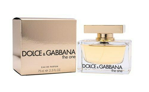 The One by Dolce amp; Gabbana 2.5 oz EDP Perfume for Women New In Box