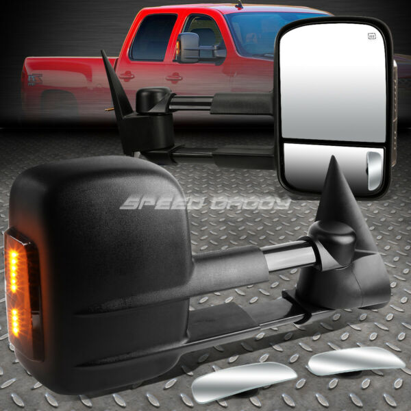 POWER HEAT SMOKE SIGNAL TOWING +SAFE VIEW BLIND SPOT MIRROR FOR 03-07 GMT800