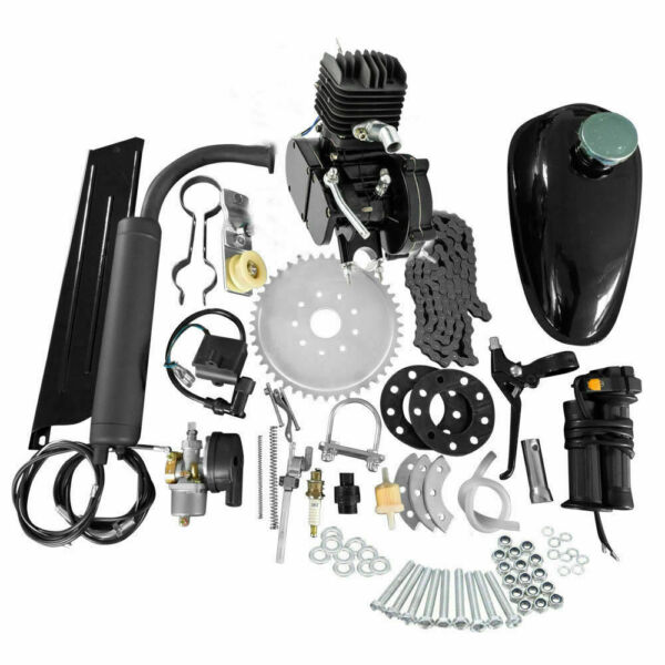 Full Set 80cc Bike Bicycle Motorized 2 Stroke Petrol Gas Motor Engine Kit Set $112.95