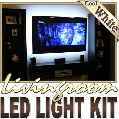Wall Unit Fireplace Couch Remote Controlled LED Strip Lighting SMD3528 Wall Plug