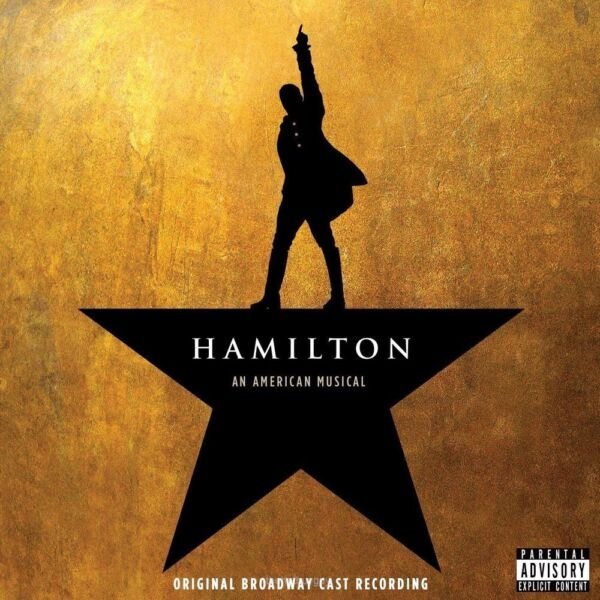 Hamilton An American Musical Original Broadway Cast Recording PA CD NEW