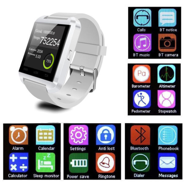 Bluetooth Smart Watch for Android Smartphones Women Girls Samsung Motorola LG