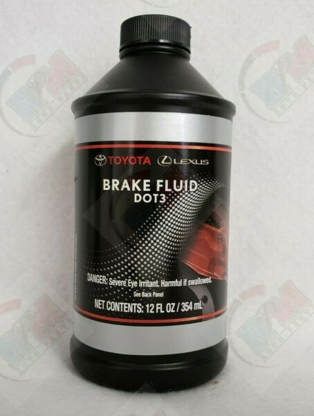 GENUINE DOT 3 Brake Fluid 12 fl. oz 00475-1BF03 for 2004-2017 Toyota / Lexus