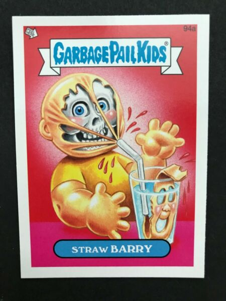 Garbage Pail Kids 2013 Minis #94a Straw BARRY NrMint-Mint