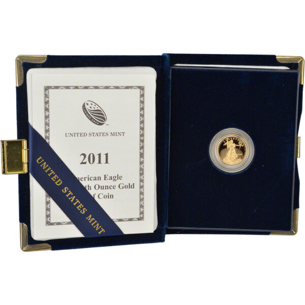 2011-W American Gold Eagle Proof (110 oz) $5 in OGP