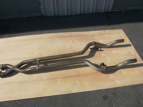 Maserati QTP -  Exhaust Central Extension Pipes  - Part # 223072