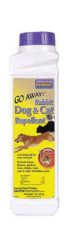 GO AWAY Rabbit Dog and Cat Repellent 1 Pound by Bonide $14.99