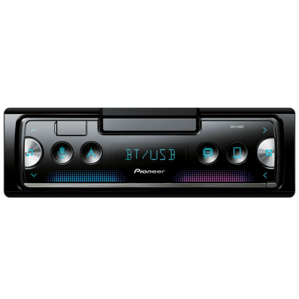 2018 Pioneer 1-DIN Bluetooth AM FM USB AUX Car Stereo Receiver w/ Built-in Amp