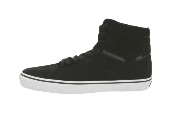 Vans Paladin Suede Black White High Top Shoes Skateboarding Sneakers