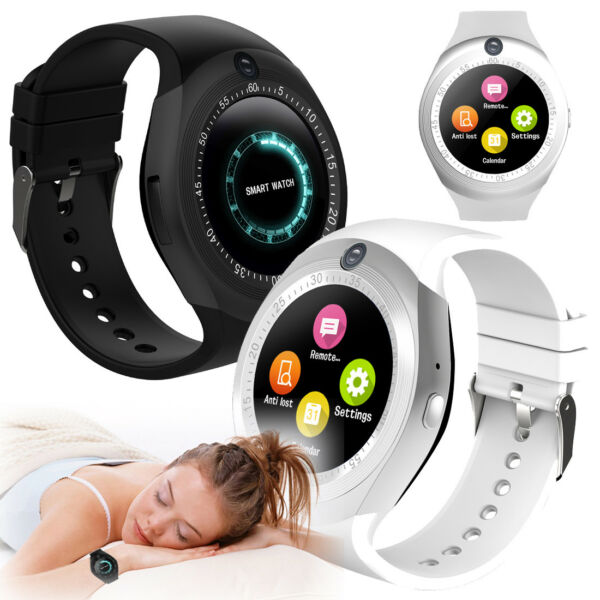 Smart Watch Sweatproof Smartwatches HD for Android Phone Men Women Boys Girls