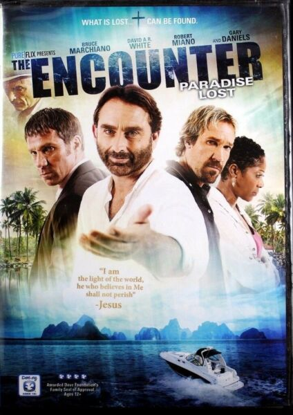 The Encounter Paradise Lost Bruce Marchiano and David A.R. White NEW DVD