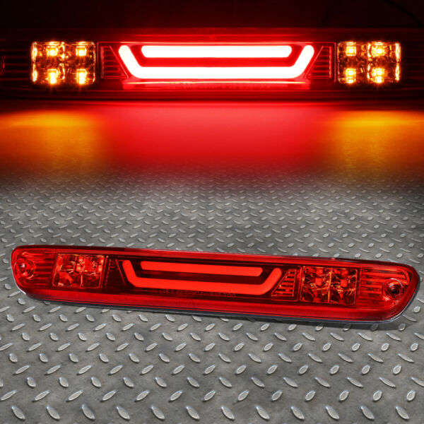 LED BAR FOR 04 12 COLORADO CANYON THIRD 3RD TAIL BRAKE LIGHT CARGO LAMP RED