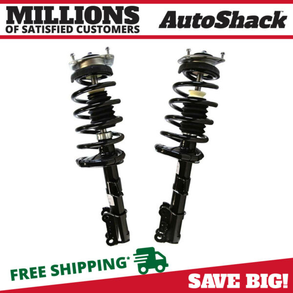 Front Pair (2) Complete Struts Assembly wcoil springs Fits 2003-2013 Volvo XC90