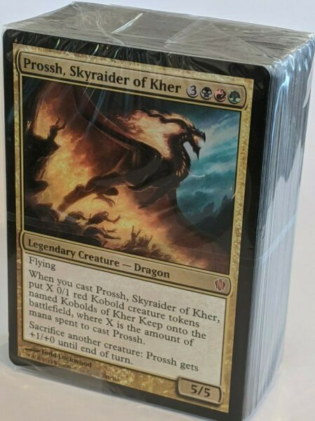 ***Power Hungry*** Commander 2013 Sealed English Deck EDH Unboxed Magic Cards