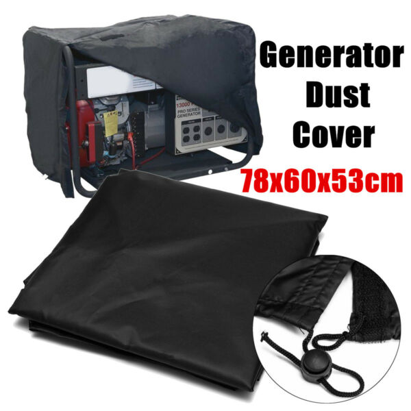 Durable 210D Generator Accessories Waterproof Dust Cover Protection Universal