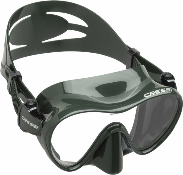 Cressi F1 Frameless Scuba Diving Snorkeling Silicone Mask
