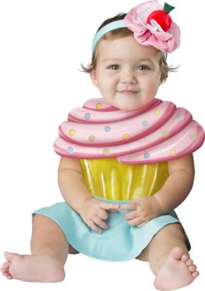 Infant Baby Cupcake Cutie Costume