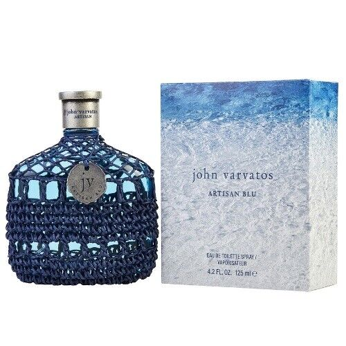John Varvatos Artisan Blu 4.2 oz EDT Cologne for Men New In Box