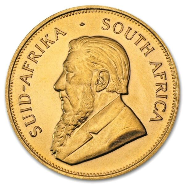 1 oz  South African Krugerrand Gold Random Year 1 oz Gold Coin