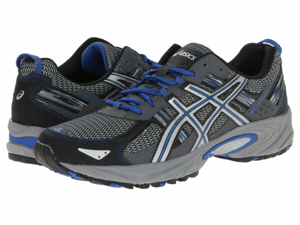 New! Mens Asics Venture 5 Trail  Running  Shoes Sneakers - 8.5