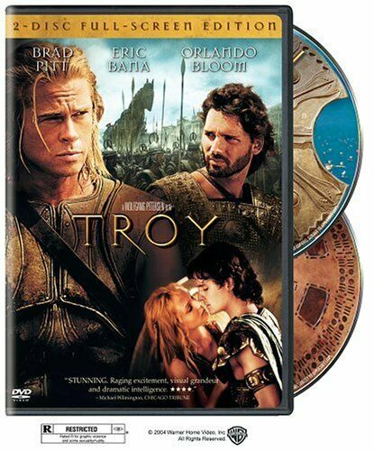 Troy Two Disc Full Screen Edition DVD NEW