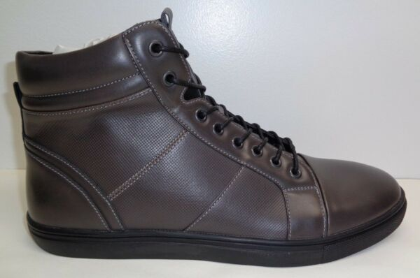 Kenneth Cole Unlisted Size 11 M DESIGN 30248 Dark Grey Sneakers New Mens Shoes