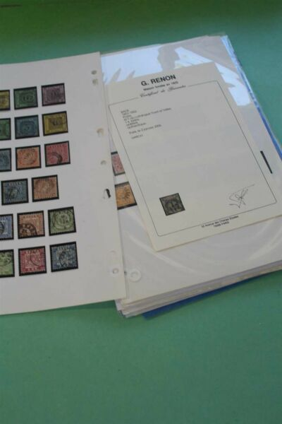 GERMANY GERMAN STATES Expertised Stamp Collection Choosen Quality INVESTMENT
