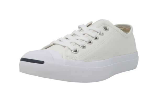 CONVERSE Jack Purcell Ox White Lace Up Canvas Fashion Sneakers Adult Men Shoes