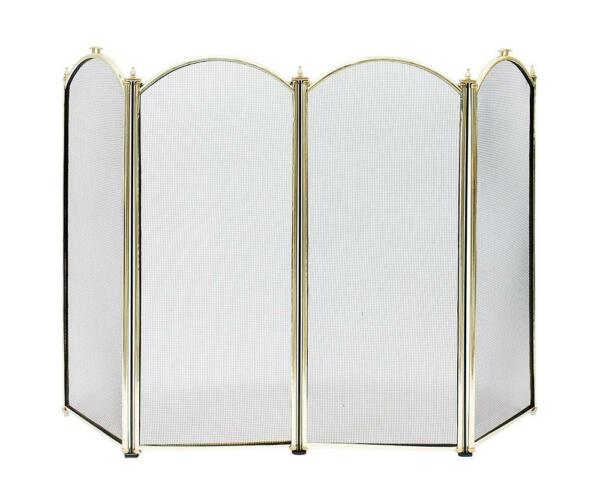 Achla Minuteman 4F Fireplace Screen SCR-01