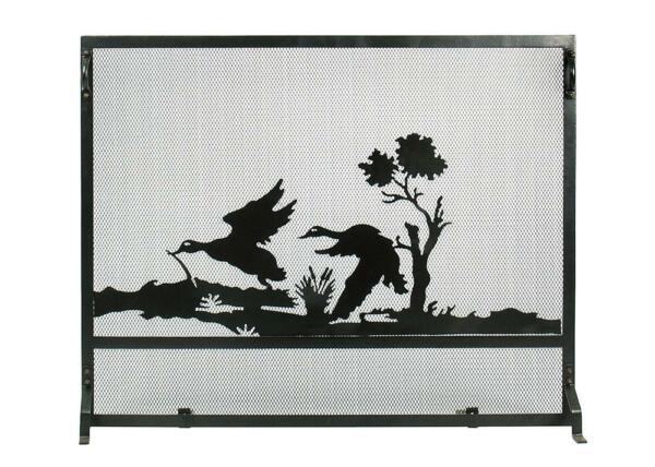 Achla Minuteman Mallard Fireplace Screen S34-3830